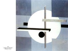 El Lisitzky (Russian, 1890 – - Proun R. 1923 mixed media on canvas on masonite Sprengel Museum Hannover, Germany Constructivism Architecture, Art Dégénéré, Degenerate Art, Math Art, Kandinsky, Mixed Media Canvas, Figurative Art, Wood Art, Graphic Art