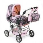 Bayer Chic 2000 Traveller Dolls Pram rosy pearls grey pink - Collection 2015