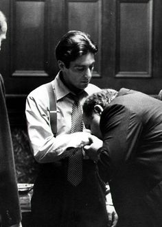 """""""Great men are not born great, they grow great."""" The Godfather: Part I. 1972."""