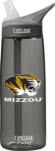 NCAA Missouri Tigers Unisex CamelBak Eddy 75L Collegiate Water Bottle CHARCOAL 75 Liter *** Be sure to check out this awesome product.Note:It is affiliate link to Amazon. #instagood