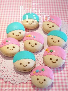 Twin Stars Macarons ★Little Twin Stars★