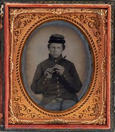 ca. 1860's, [portrait of a Federal fifer]  via Heritage Auctions