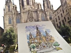 catedral, barcelona (spain)