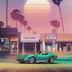 Synthwave Sunset Drive