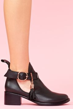 love these cut out boots for spring - Ryder Cutout Bootie