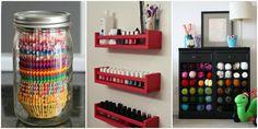 16 Genius Double-Duty Organizing Ideas - Repurposed Home Organizers - Home Organizing Hacks and Ideas