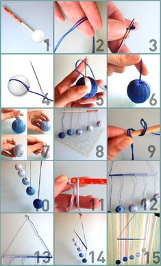 Mobiles help the baby to distract and also contribute to the child& development, check out some Montessori and make yourself mobiles. Montessori Toddler, Mobile Montessori, Diy Montessori Toys, Montessori Bedroom, Montessori Materials, Montessori Kindergarten, Baby Gym, Baby Play, Diy Mobile