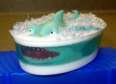 Handmade Shark soap by MeelaSoap on Etsy, $4.50