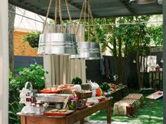 How to Host a Backyard Barbecue Wedding Shower | Entertaining - DIY Party Ideas, Recipes, Wedding & Baby Showers | DIY