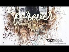 Layers of Love - vintage layout by Kasia Bogatko - YouTube