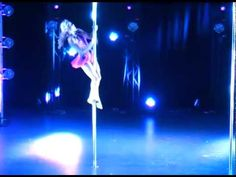 Miss Pole Dance UK 2014 - Charlotte Robertson 2nd Place - YouTube