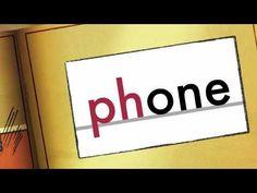 ph words - Phonics - phone, sphere, dolphin