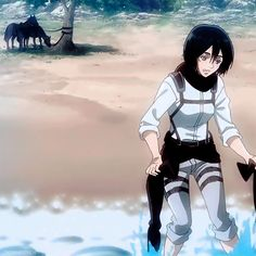 Attack on Titan Mikasa, Armin, Otaku, Levi Squad, Manga Anime, Anime Art, Rivamika, Eremika, Attack On Titan Anime