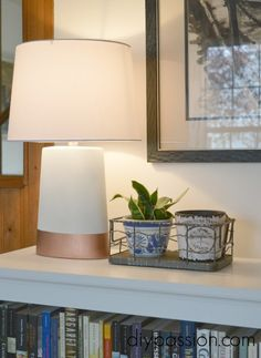 How I Rescued a Pair of $1 Yard Sale Lamps - DIY Passion
