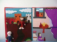 arte em feltro: HISTÓRIAS BÍBLICAS EM FELTRO