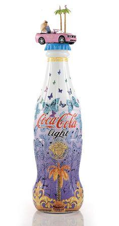 Italian Designers Create Limited Edition Coca-Cola Bottles