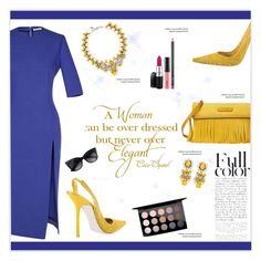 """""""Summer Dress For The Office"""" by marion-fashionista-diva-miller ❤ liked on Polyvore"""