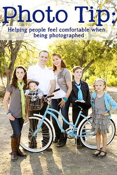 Photography tip: helping people feel comfortable when being photographed www.KristenDuke.com