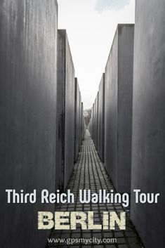 Take this self-guided tour to get more familiar with the unparalleled history of the most destructive figure and regime of the 20th Century – Hitler and the Third Reich, respectively.  #BerlinSelfGuided #BerlinWalk #BerlinThirdReich #ThirdReichAttractions #ThirdReichSelfGuided #ThirdReichGuide #GPSmyCity
