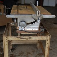 1960 S Sears Vintage Craftsman 10 Table Saw 1hp Motor With Stand