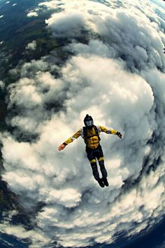 Sky diving! Its what my <3 wants to do. I shall support him in anyway...except doing it with him! Hahah