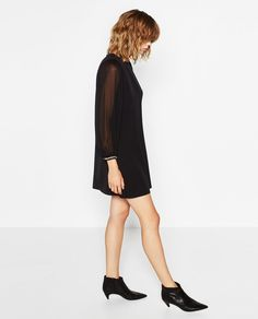 Image 1 of GEM APPLIQUÉ DRESS from Zara