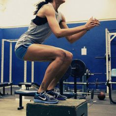 box jumps for legs a