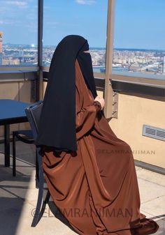 Niqab Fashion, Modest Fashion Hijab, Arab Girls Hijab, Muslim Girls, Hijab Fashionista, Muslim Women Fashion, Islamic Girl, Mode Hijab, Hijab Niqab
