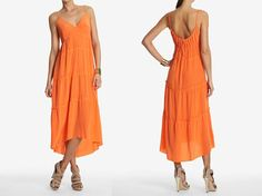 Tiered Silk Dress by CayeShoals on Etsy, $179.00