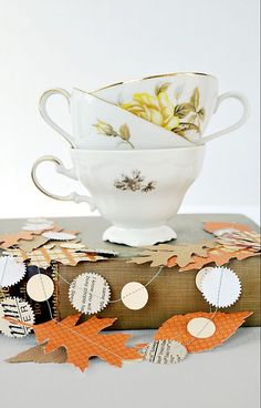 cute fall paper garland