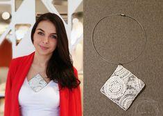 ada k. handmade from Hungary ; Hungary, Circles, Elsa, Pearls, Sewing, Handmade, Hand Made, Couture, Fabric Sewing