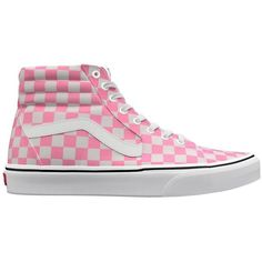 86df8d37f9bb Vans Customs Sk8-Hi ( 85) ❤ liked on Polyvore featuring shoes