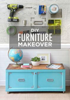 Transforming an old wooden chest has never been easier, thanks to this DIY project idea featuring Surfer BEHR paint. Choose a fun and trendy color to start—and you'll be on your way to furniture makeover bliss in no time!