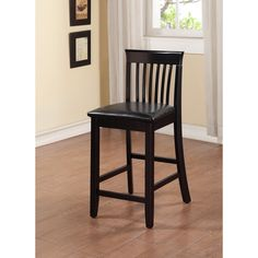 Linon Torino Collection Craftsman Counter Stool   Overstock.com Shopping - The Best Deals on Bar Stools