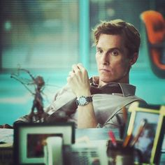 Matthew McConaughey as Rust Cohle in True Detective great show pity so short. Wonder who will star in season True Detective Rust, True Detective Season 1, Matthew Mcconaughey, Livingston, Fiction, Just Dream, Film Serie, Cultura Pop, Best Actor