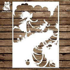 Paper panda papercut diy design template make your own sunshine paper panda papercut diy design template maxwellsz