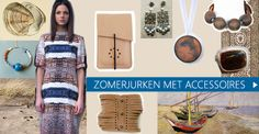 Combineer zomerjurken met trendy accessoires
