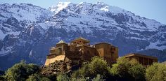 Kasbah du Toubkal, Atlas Mountains, Marrakech, Morocco | Luxury Hotel and Mountain Retreat...Donkeys carried our bags up to hotel. Cool experience.