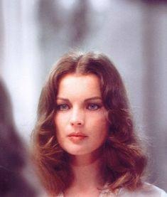 Portrait of Romy Schneider, 1970's