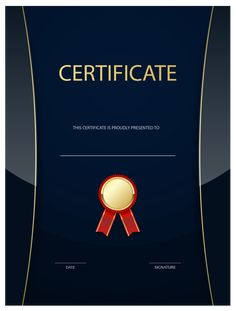 Poster Template on PosterMyWall Graduation Certificate Template, Certificate Of Achievement Template, Certificate Design Template, Award Certificates, Happy Birthday Banner Printable, Printable Banner, Certificate Maker, Certificate Background, Drawing Competition