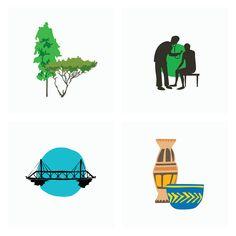 #somalia #finland #animals #maps #nature #africa #graphic #design #illustration Sansa, Serif, Helsinki, Blur, Finland, Africa, Illustrations, Graphic Design, Comics