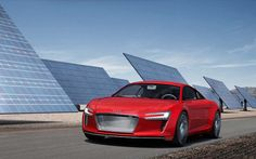 Auto Cars: Audi E Tron 3 Free Wallpapers