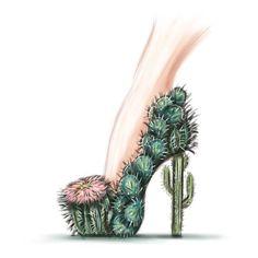 Cactus Heels