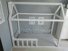 łóżko domek * house bed * 2b cute * dodatki * białe * skandi * Dąbrowa Górnicza - image 1