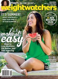 Weight Watchers Magazine delivers smart advice and delicious recipes that can help you succeed with your weight loss program and feel great about yourself. In every issue, real people share the tips that worked for them. Find the support and motivation you need to reach your weight loss goals within the pages of Weight Watchers Magazine.