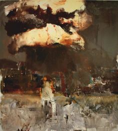 red-lipstick:  Adrian Ghenie (Romanian, b. 1977), Nougat 2, 2010. Oil on canvas.
