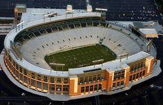 Lambeau Field, Green Bay, WI, home of the Green Bay Packers