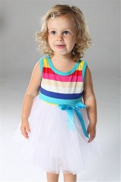 New Toddler Princess Rainbow Tutu Style Tulle Dress Sizes 2T 3T 4T 5T 6T | eBay