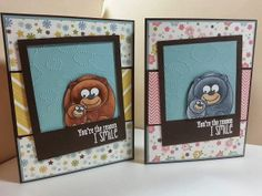 airbornewife's stamping spot: You're the reason I SMILE boy ~ girl card