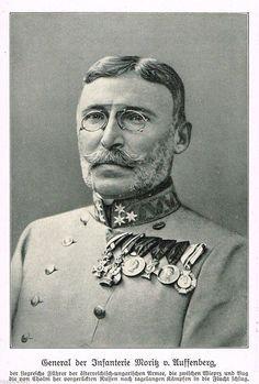 Moritz Freiherr von Auffenberg von Komarow Austro Húngaro, Austrian Empire, Austro Hungarian, Military Uniforms, World War I, Binoculars, Portraits, History, People